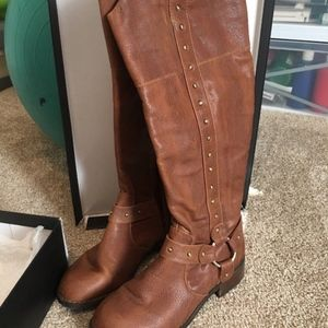 INC International Concepts Brown Boots 8 Macy's